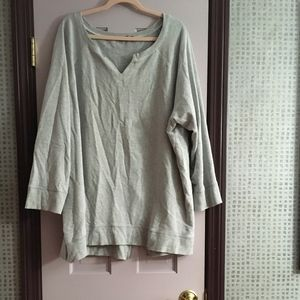 FRENCH TERRY TUNIC.......